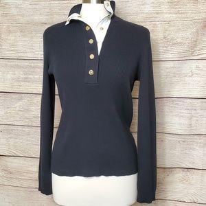 Lauren Active Ralph Lauren Snap Button Sweater S M